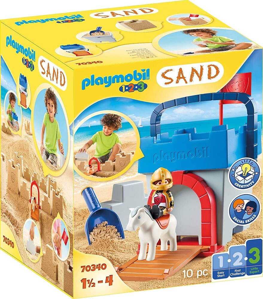- 123 Knights Castle Sand Bucket (Fig)