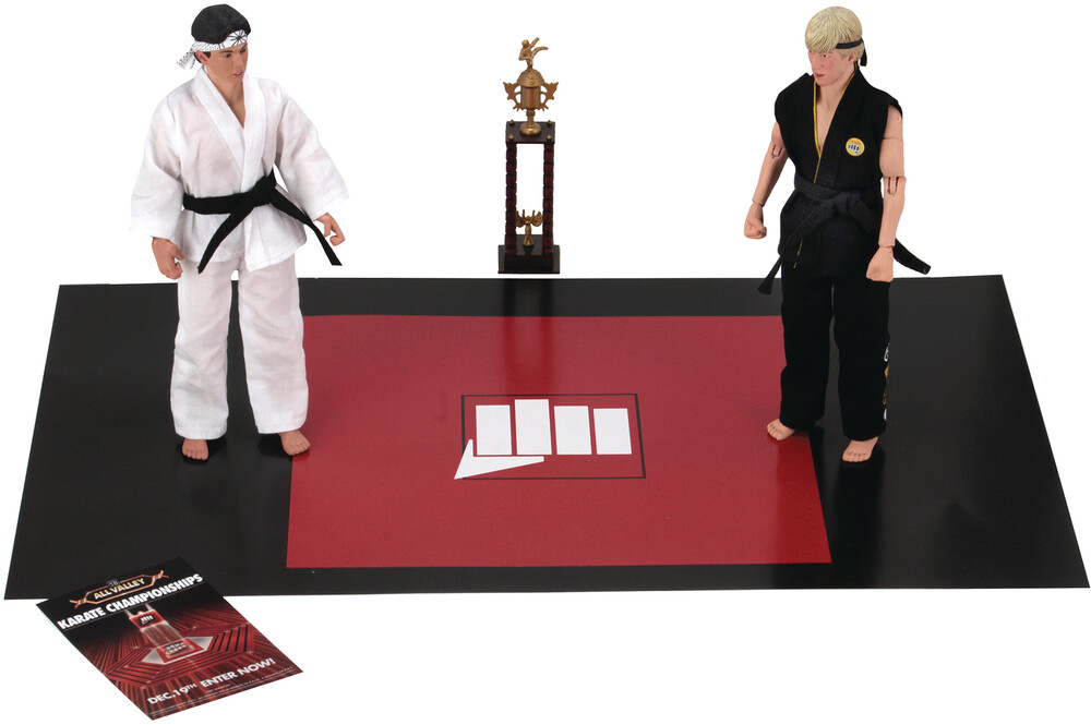 - Karate Kid 1984 8in Retro Af Tournament 2pk (Afig)