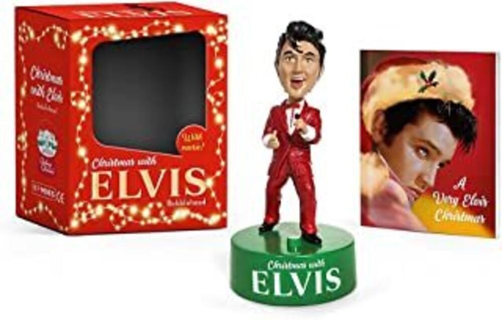 Robert Elder  K - Christmas With Elvis Bobblehead (Gift)