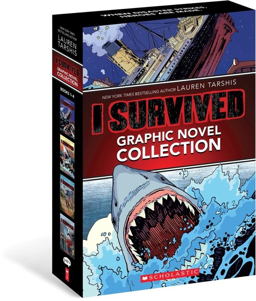 Lauren Tarshis  / Haus Studio / Saraseca,Alvaro - I Survived Graphic Novels 1-4 (Box) (Ppbk) (Ser)