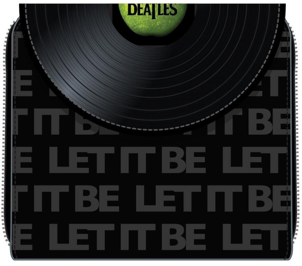 Loungefly the Beatles: - Let It Be Vinyl Record Zip Around Wallet (Wal)