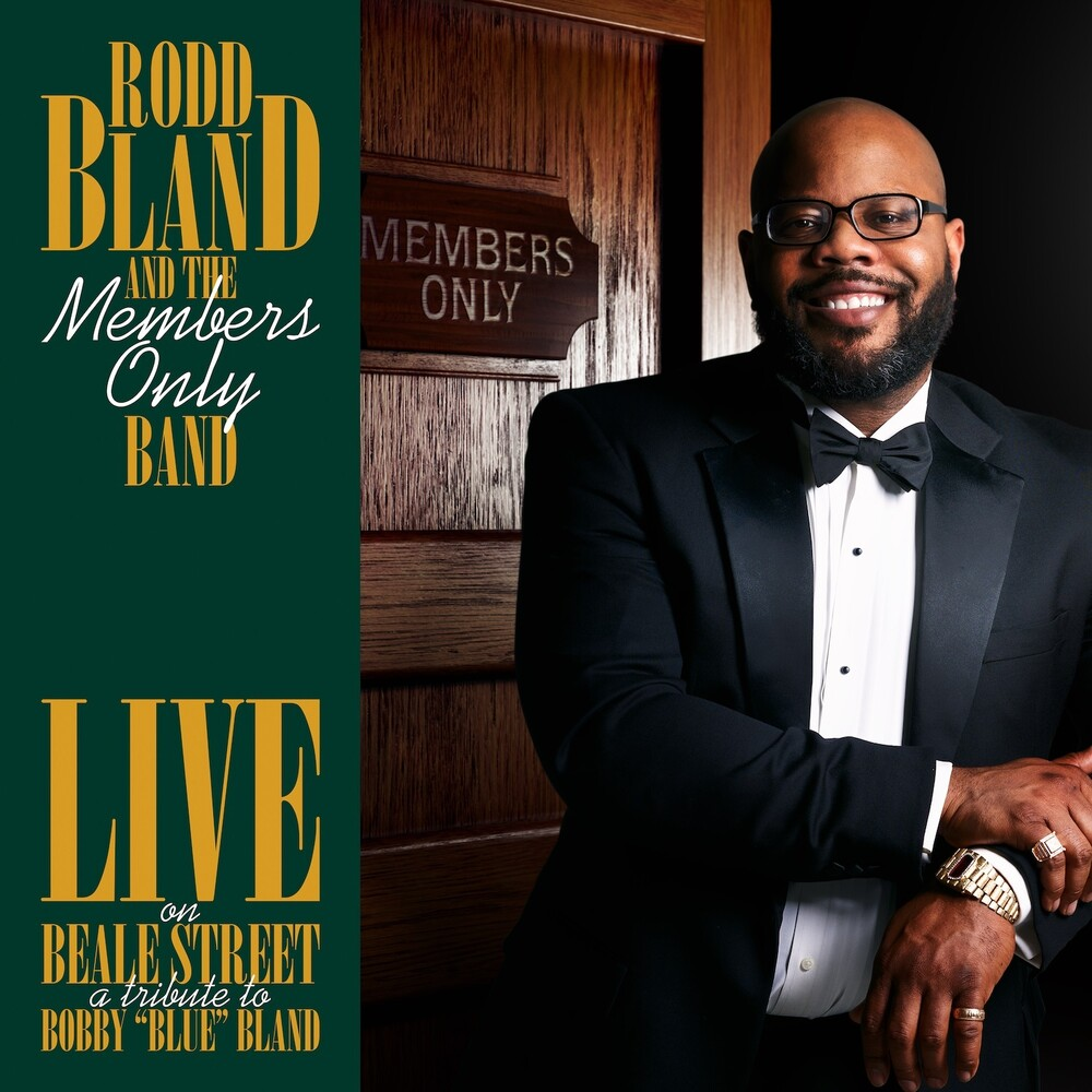 Robb Bland  & The Members Only Band - Live On Beale Street: Tribute To Bobby Blue Bland