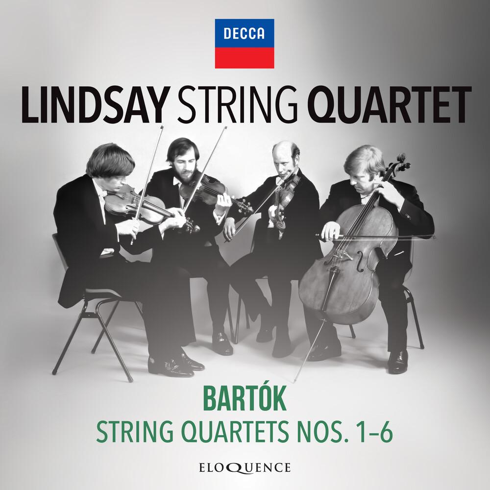 Bartok / Lindsay String Quartet - Bartok: String Quartets 1-6 (Aus)