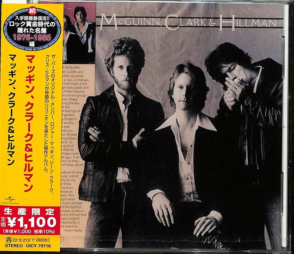 Mcguinn Clark & Hillman - Mcguinn Clark & Hillman [Limited Edition] (Jpn)