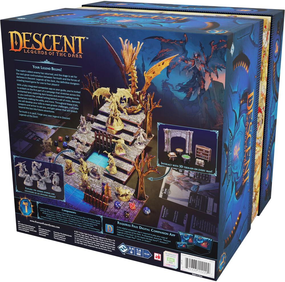Descent: Legends of the Dark - Descent: Legends Of The Dark (Wbdg)