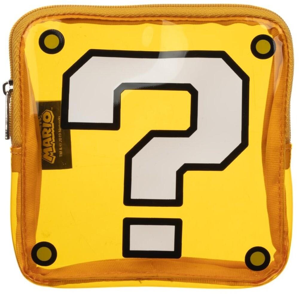 Nintendo Super Mario Question Box Coin Purse - Nintendo Super Mario Question Box Coin Purse