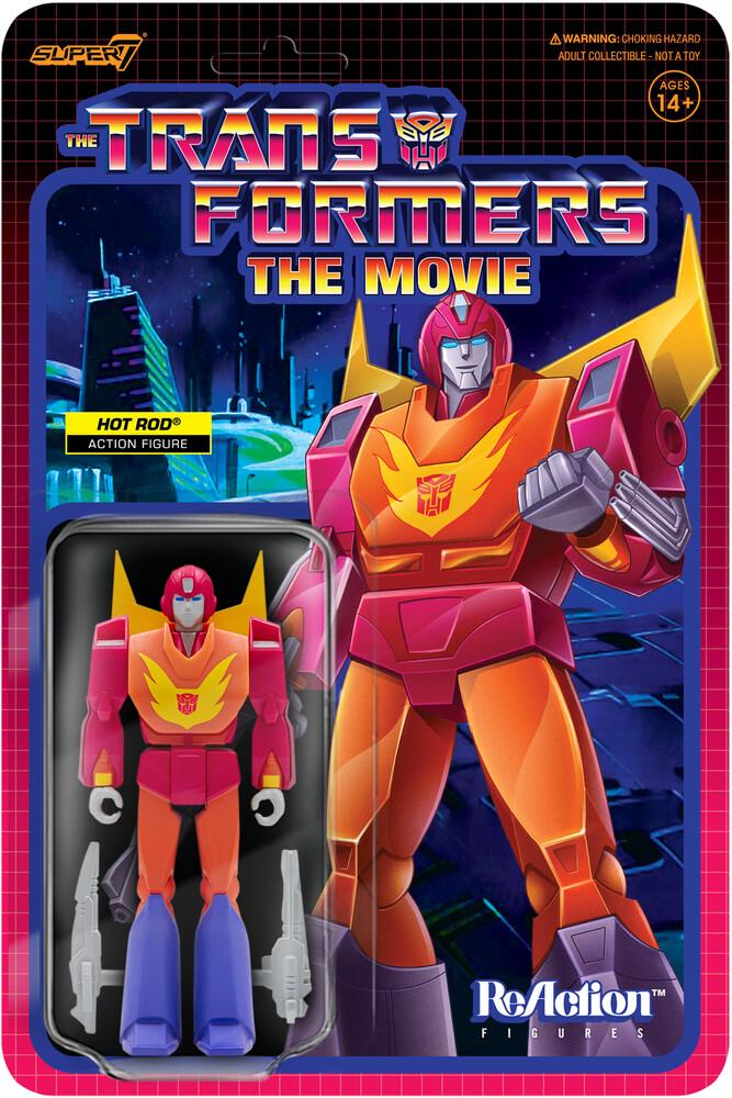 Transformers Reaction Figure Wave 4 - Hot Rod - Transformers Reaction Figure Wave 4 - Hot Rod
