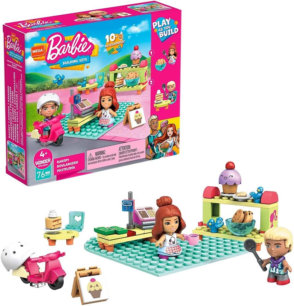 Mega Brands Barbie - Barbie Bakery (Fig) (Brik)