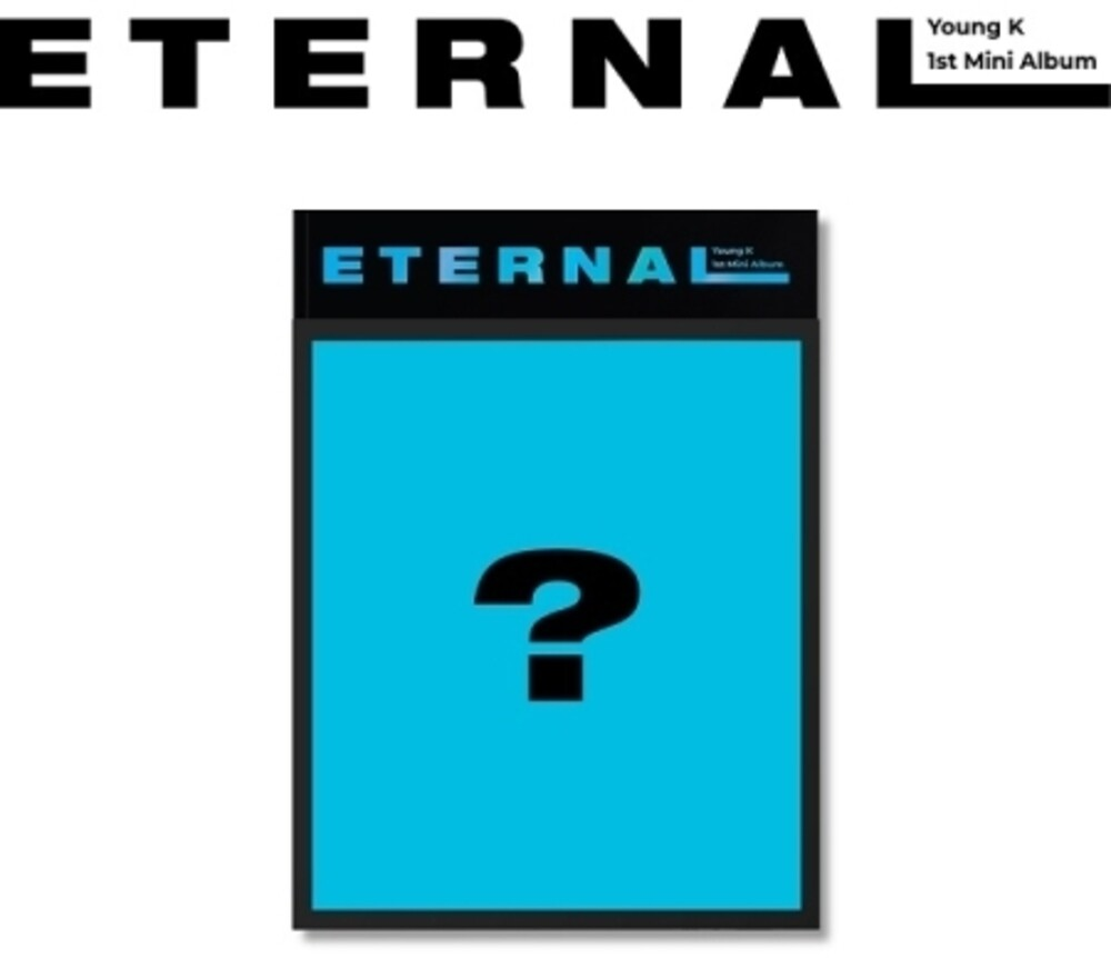Young K (Day6) - Eternal (Random Cover) (incl. 80pg Photobook, Photocard, 16pg Lyric Diary + Paper Stand)