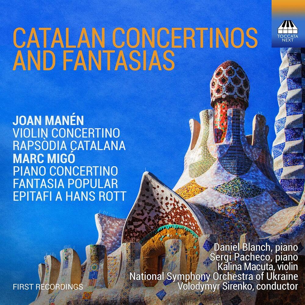 Manen / Sirenko - Catalan Concertinos & Fantasia