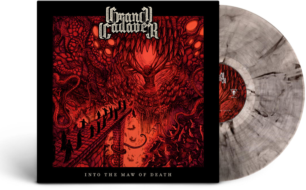 Grand Cadaver - Into The Maw Of Death (Smokey Grey Vinyl) [Colored Vinyl]