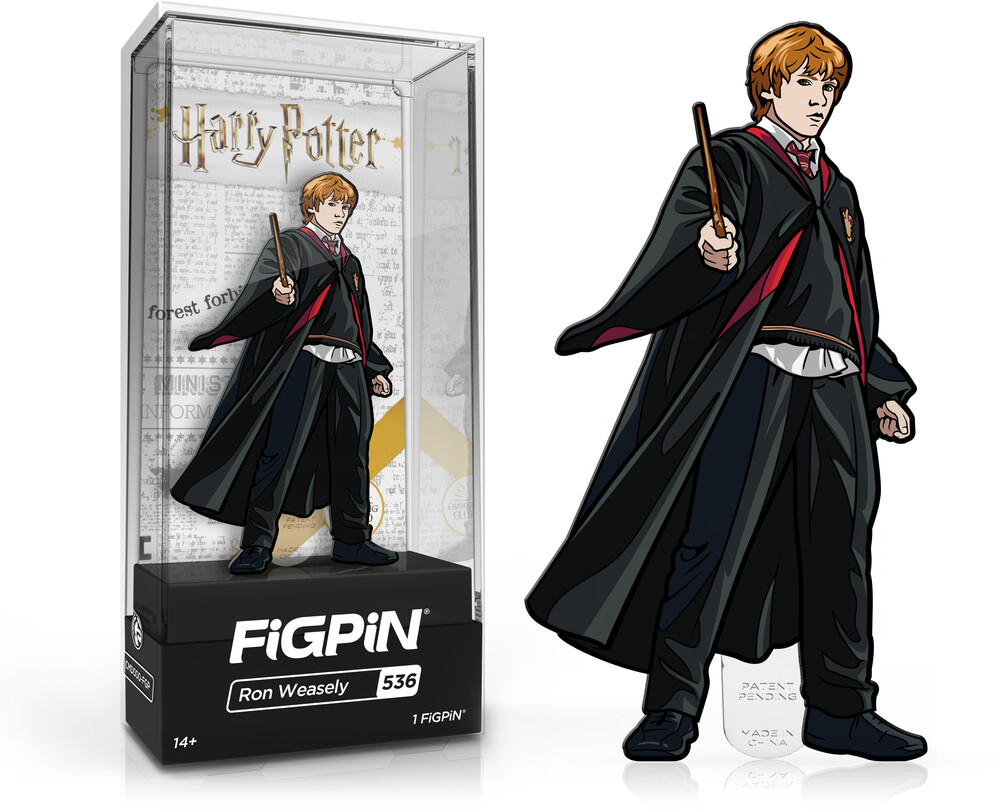 Figpin Harry Potter Ron Weasley #536 - Figpin Harry Potter Ron Weasley #536 (Clcb) [Limited Edition]