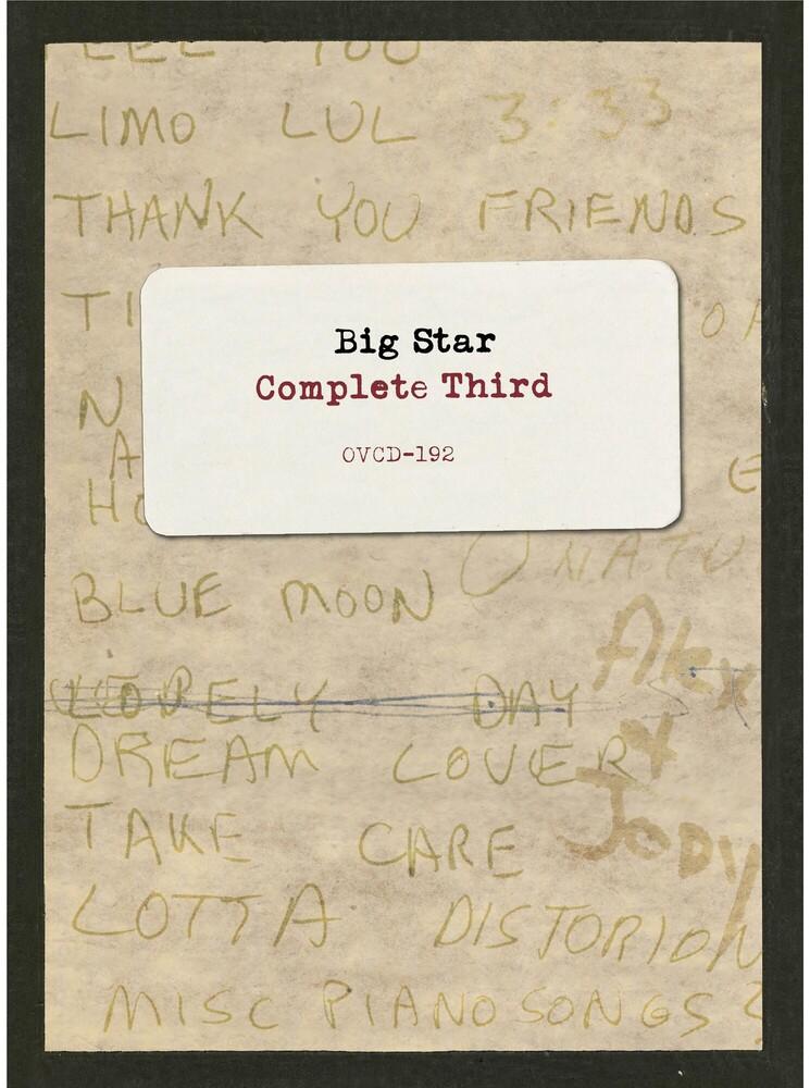 Big Star - Complete Third