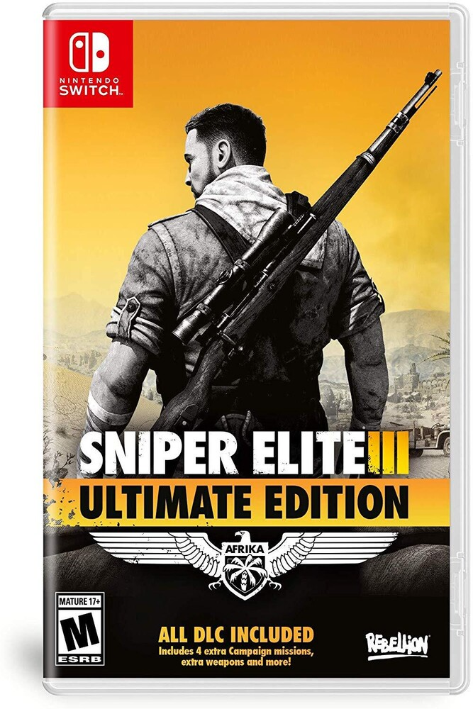 - Sniper Elite 3 Ultimate Edition