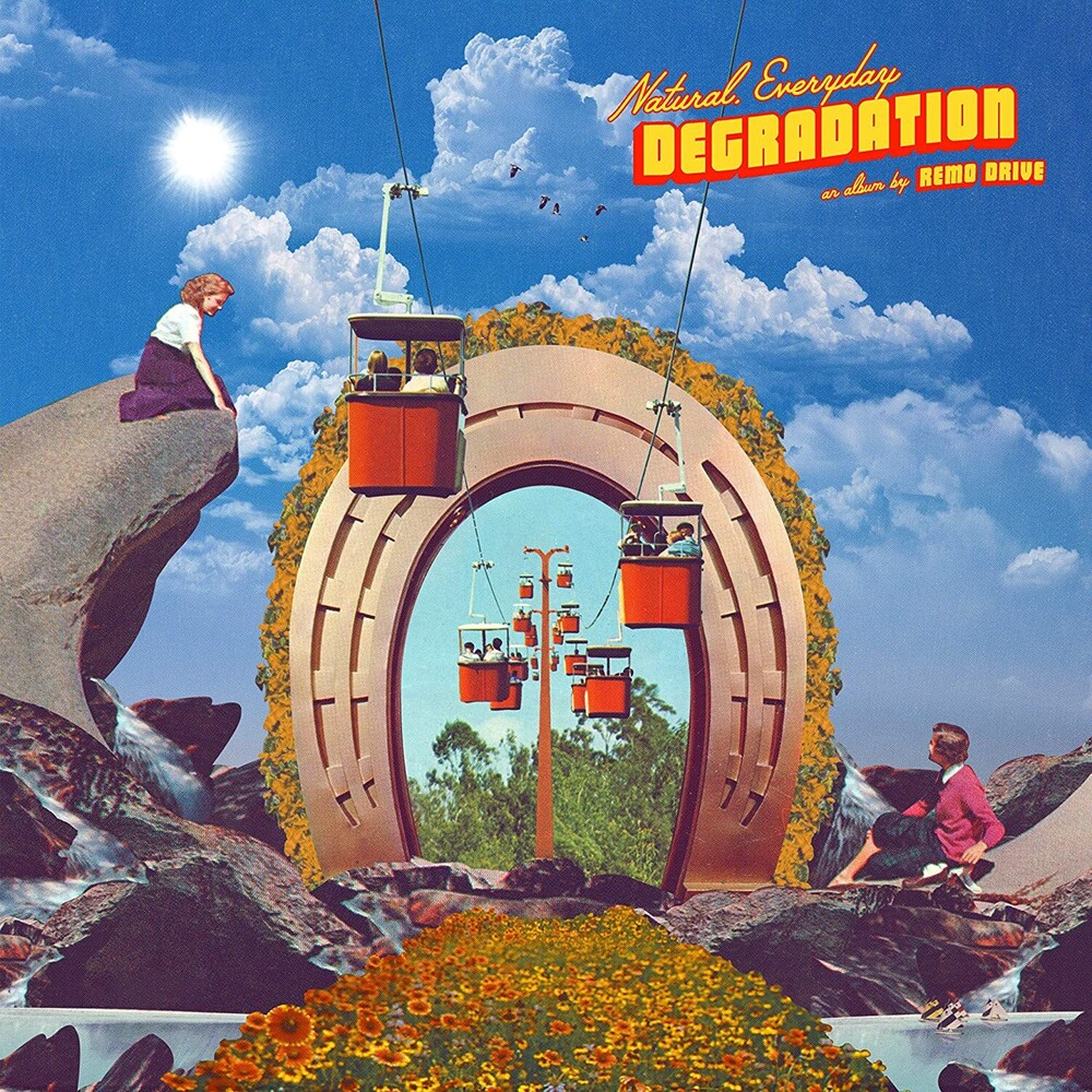 Remo Drive - Natural, Everyday Degradation [Indie Exclusive Limited Edition Clear w/Smoke LP]