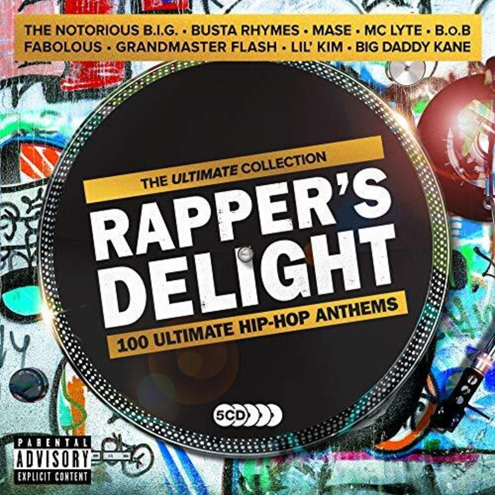 Rappers Delight Ultimate Hip-Hop Anthems / Var - Rapper's Delight: Ultimate Hip-Hop Anthems / Various