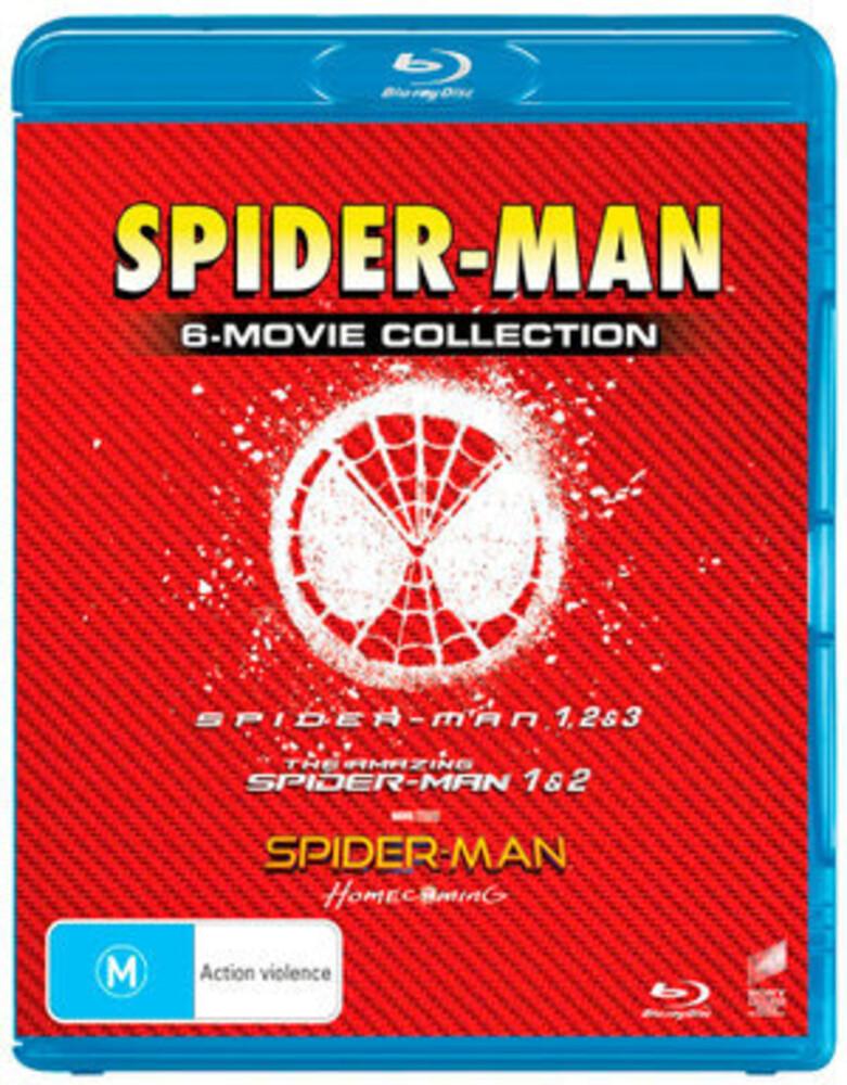 Tobey Maguire - Spider-Man: Movie Pack (6pc) / (Aus)