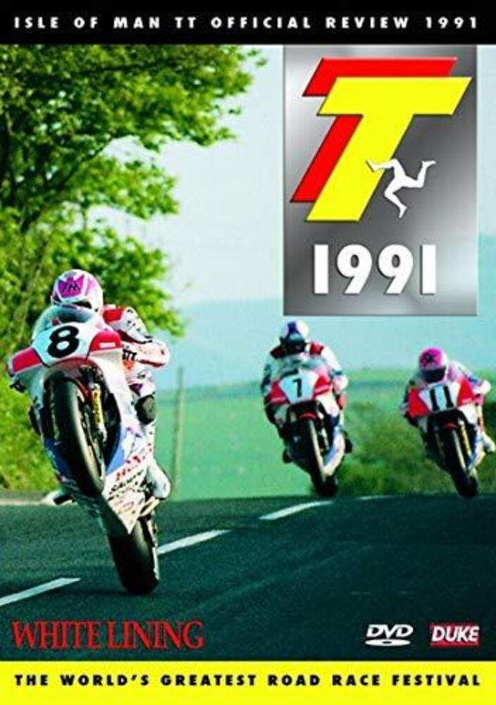 1991 Isle of Man Tt Review: White Lining - 1991 Isle Of Man Tt Review: White Lining