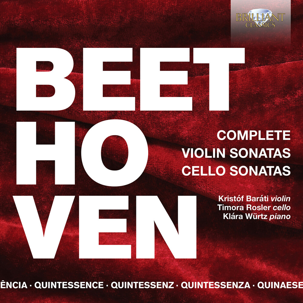 Beethoven / Rosler / Barati - Violin Sonatas & Cello Sonatas