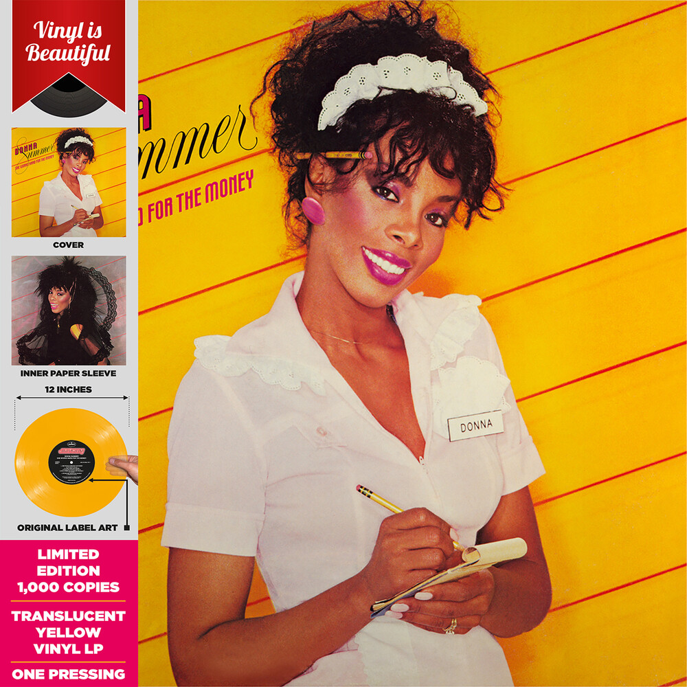Donna Summer - She Works Hard For The Money (Ylw)