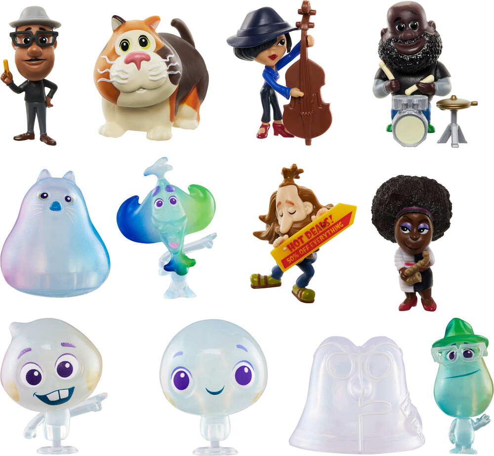 Pixar Soul - Mattel - Soul Mini Figure Assortment (Disney/Pixar)