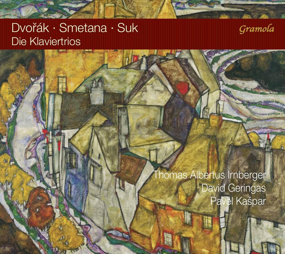 Dvorak / Irnberger / Kaspar - Die Klaviertrios (Hybr) (3pk)