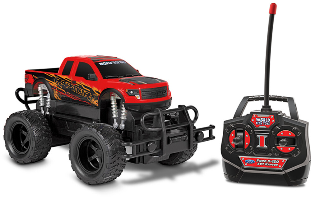 Rc Vehicles - 1:24 Ford F-150 SVT Raptor RC Truck (One random color per transaction. Colors green, blue or red.)
