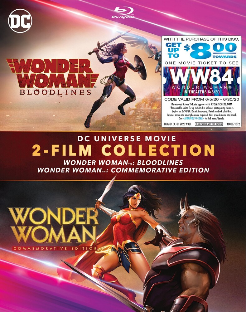 - Dcu: Wonder Woman (2pc) / (2pk Ecoa)