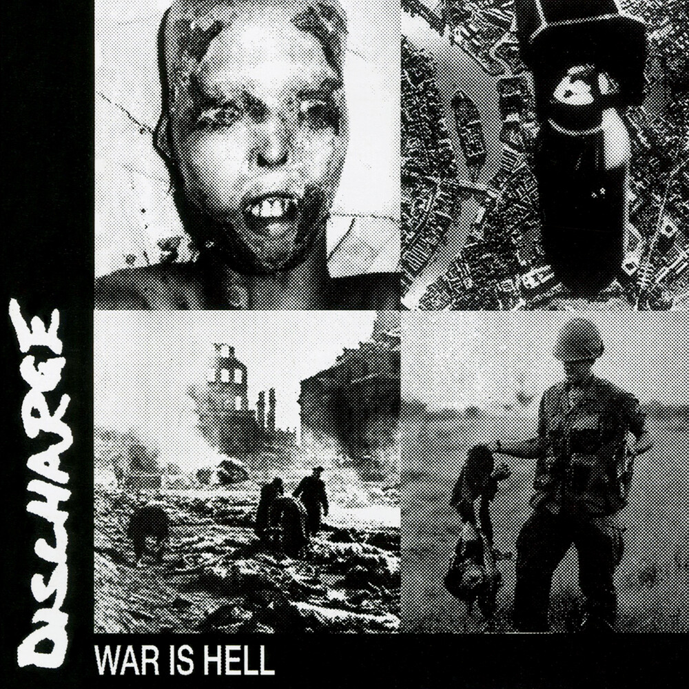 Discharge - War Is Hell [Limited Edition Blue LP]
