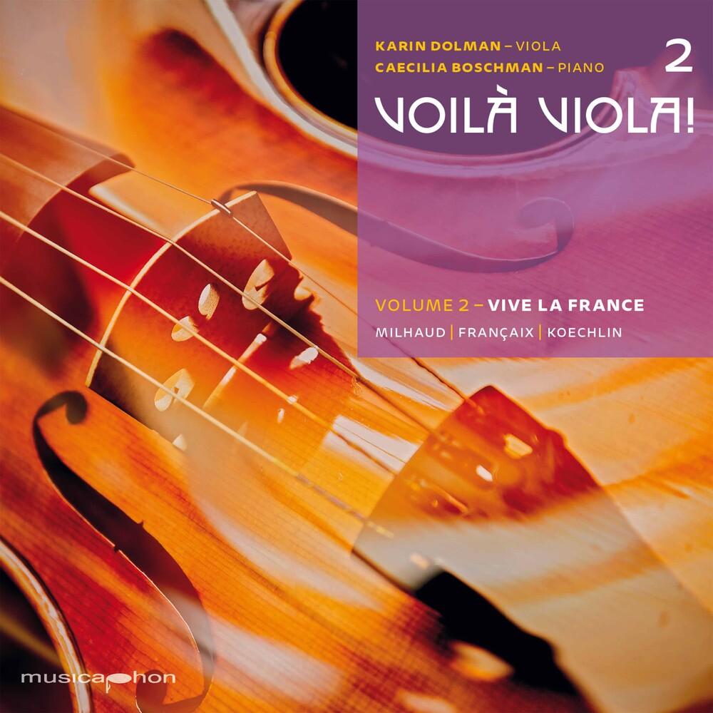 Francaix / Dolman / Boschman - Voila Viola 2 (Hybr)