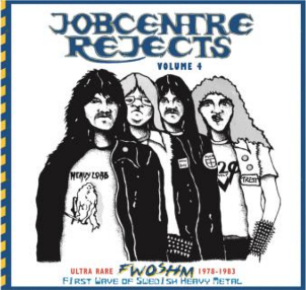 Jobcentre Rejects Vol 4 - Ultra Rare Fwoshm 1978- - Jobcentre Rejects Vol. 4 - Ultra rare FWOSHM 1978-1983 / Various