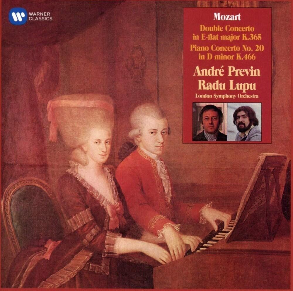 Radu Lupu / Lso / Previn,Andre - Mozart: Double Concerto Piano Concerto No. 20