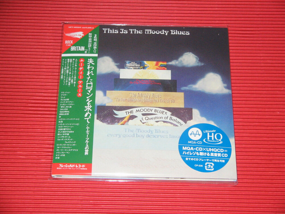 Moody Blues - This Is The Moody Blues (Jmlp) [Limited Edition] (24bt) (Hqcd)