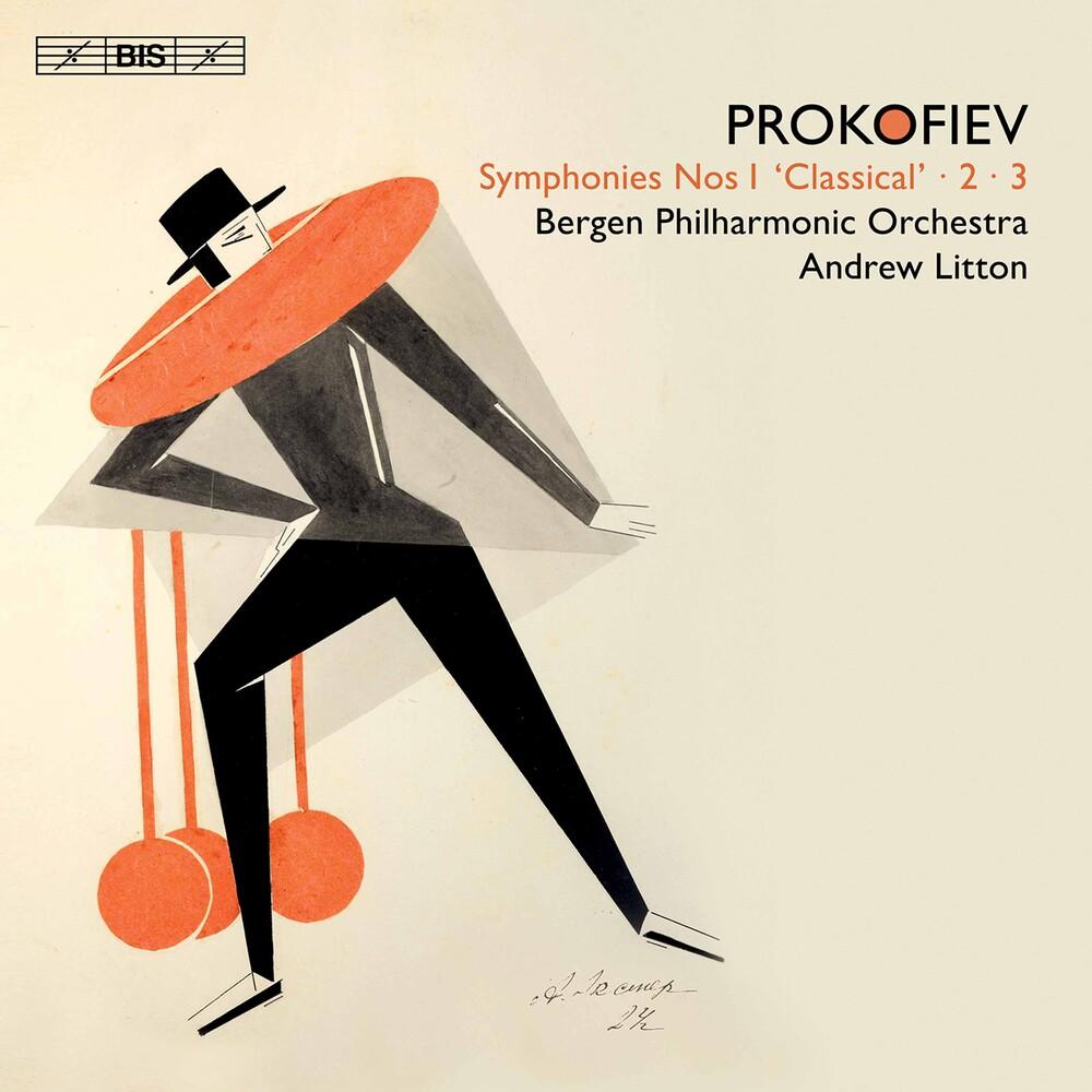 Bergen Philharmonic Orchestra - Symphonies 1 2 3 (Hybr)