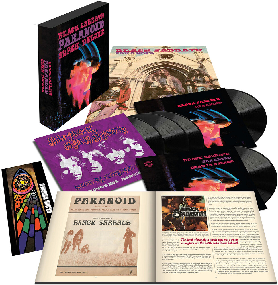 Black Sabbath - Paranoid (Box) [Deluxe] [180 Gram]