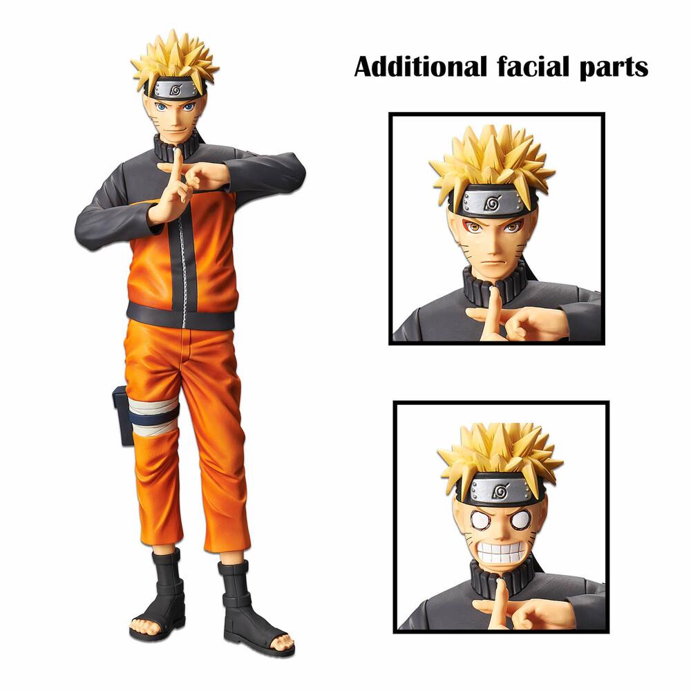 Banpresto - BanPresto - Naruto Shippuden Uzumaki Naruto Figure