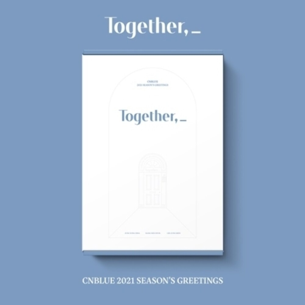 CNBlue - 2021 Season's Greeting (Together) (incl. 32pg 2021 Desk Calendar,200pg Photodiary, Greeting Card Set, Photocard Set, Mini Poster