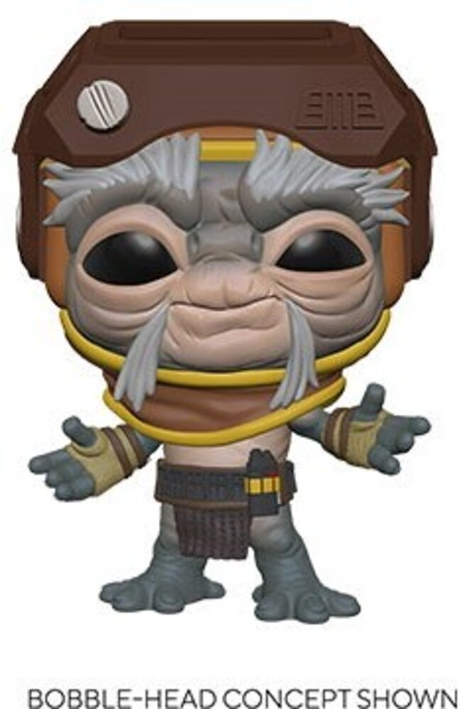 Funko Pop! Star Wars: - FUNKO POP! STAR WARS: Star Wars- Babu Frik 10""