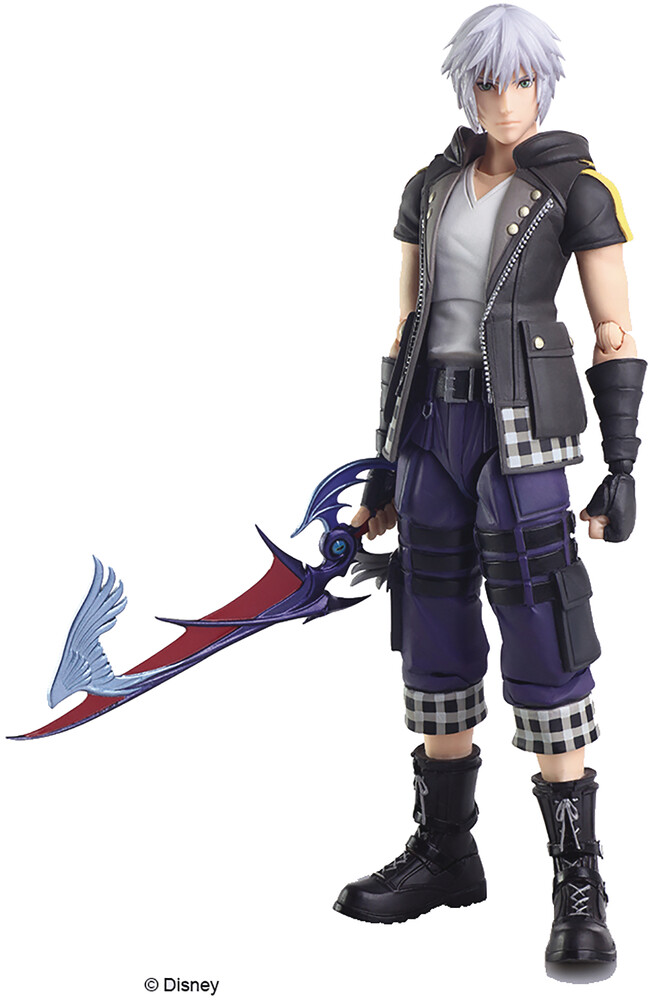Square Enix - Square Enix - Kingdom Hearts III Bring Arts Riku Action Figure Version2