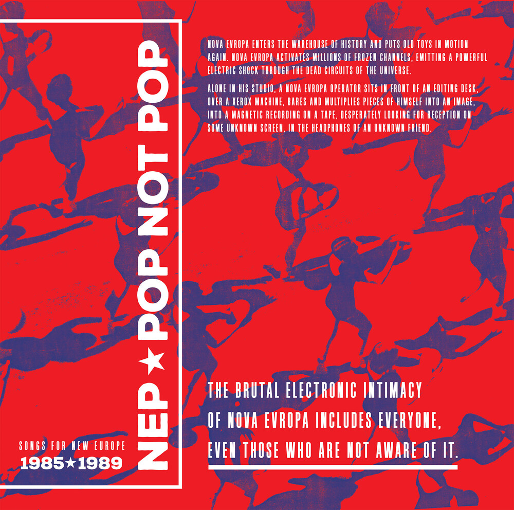 Nep - Pop Not Pop (Songs For New Europe 1983-1989)
