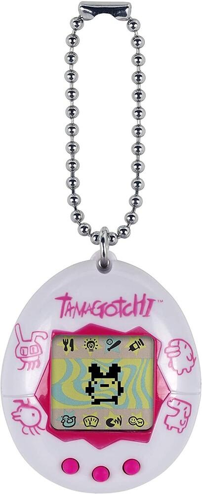 Tamagotchi - Bandai America - Original Tamagotchi, White and Pink