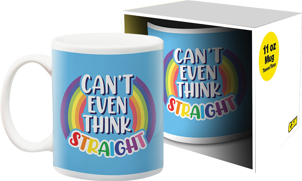 Pride Can't Think 11Oz Boxed Mug - Pride Can't Think 11oz Boxed Mug