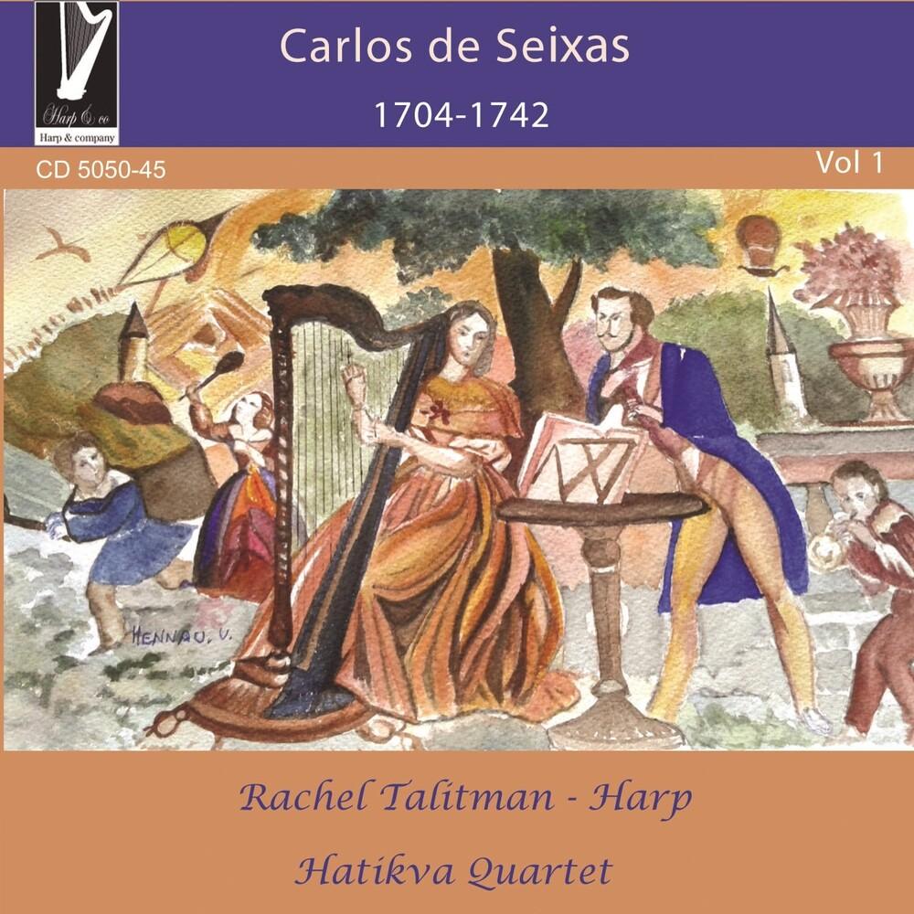 De Carlos Seixas  / Talitman,Rachel / Hatikva Quart - Carlos De Seixas: 1704-1742 (Uk)
