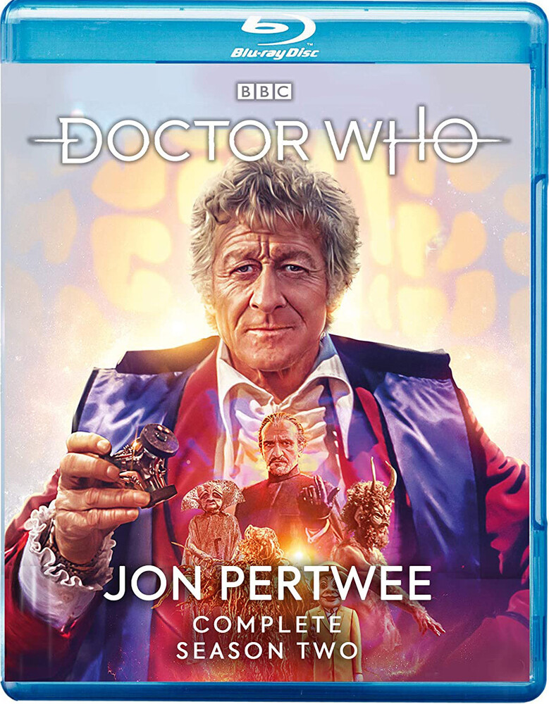 - Doctor Who: Jon Pertwee Complete Season Two (8pc)