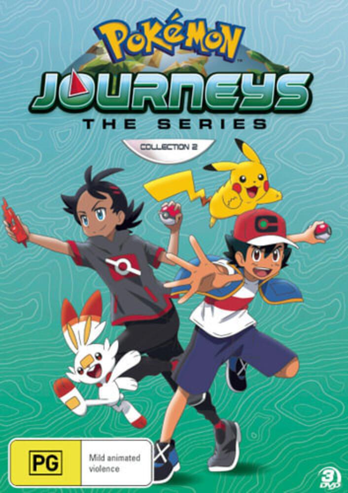 - Pokemon Journeys: Collection 2 (3pc) / (Aus Ntr0)