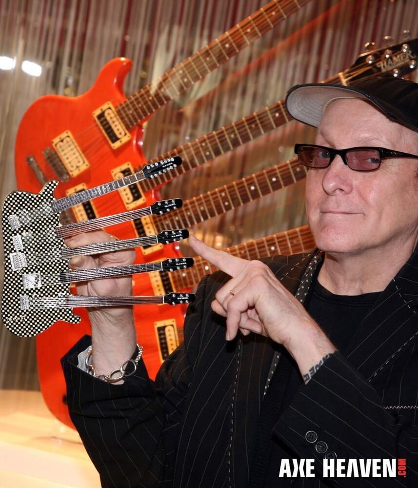 - Rick Nielsen Cheap Trick Hamer 5 Neck Mini Guitar