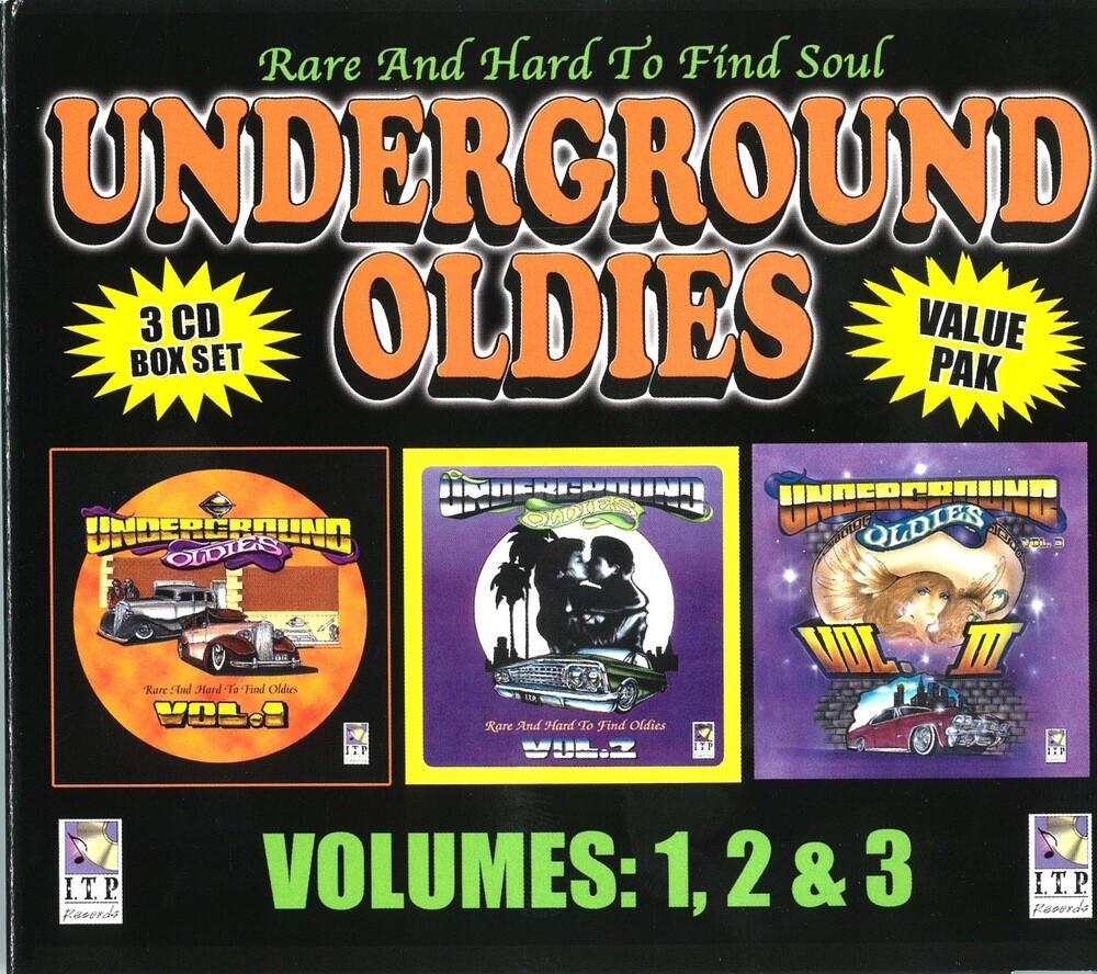Undeground Oldies Valu Pak Volumes 1 2 3 / Various - Undeground Oldies Valu Pak Volumes 1 2 3 / Various