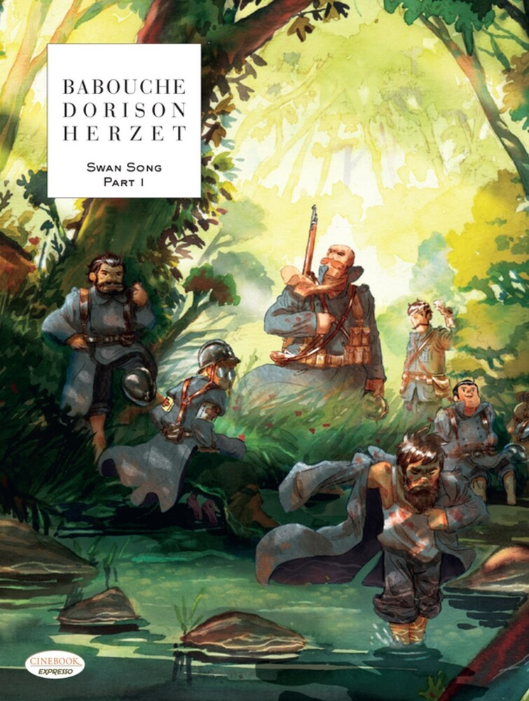 Xavier Dorison - Swan Song Part 1 (Gnov) (Ppbk)