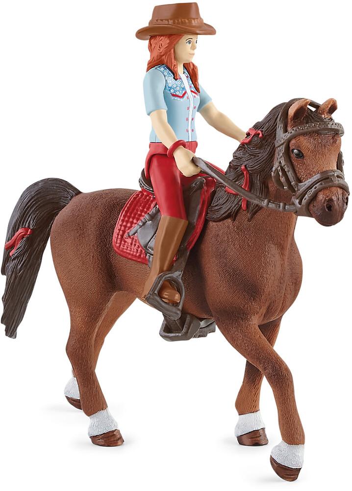 Schleich - Schleich Horse Club Hannah & Cayenne (Fig)