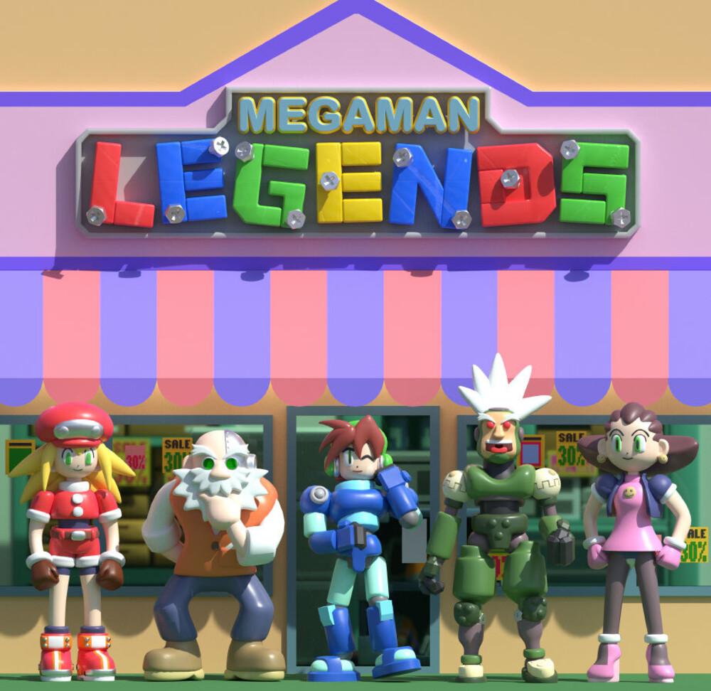 Capcom Sound Team (Colv) (Cvnl) - Mega Man Legends / O.S.T. (Clear Vinyl) [Colored Vinyl]